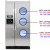 Ksrv22fvss fridge temp display