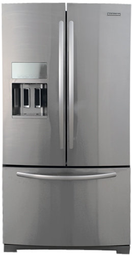 Kitchenaid Appliances White kitchenaid kfis29pbms 29 cu. ft. french door stainless steel