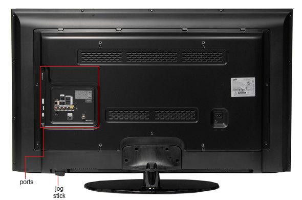 Samsung Smart Tv Back