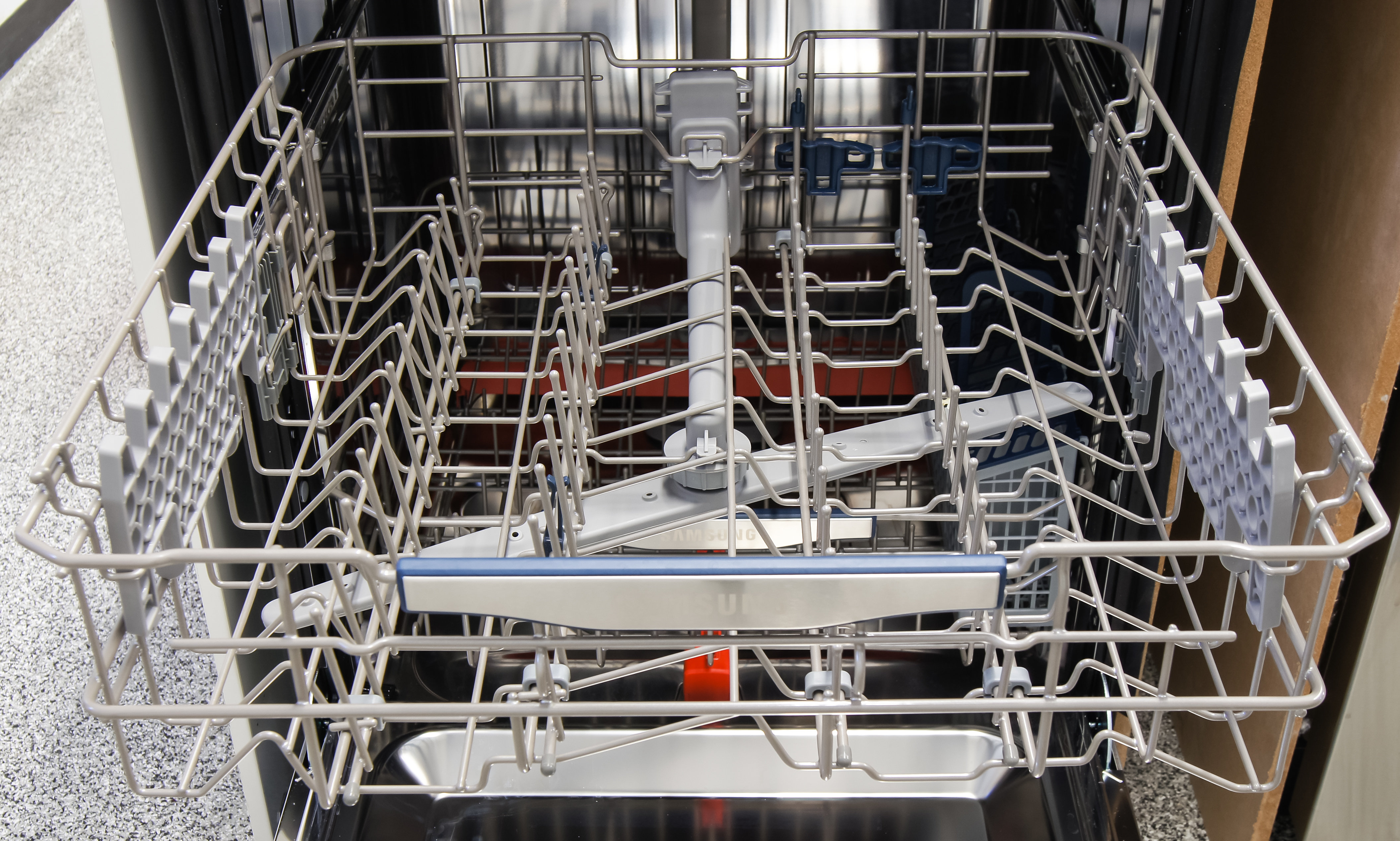 Oven Stabilizer Arm : Samsung dw h us dishwasher review reviewed