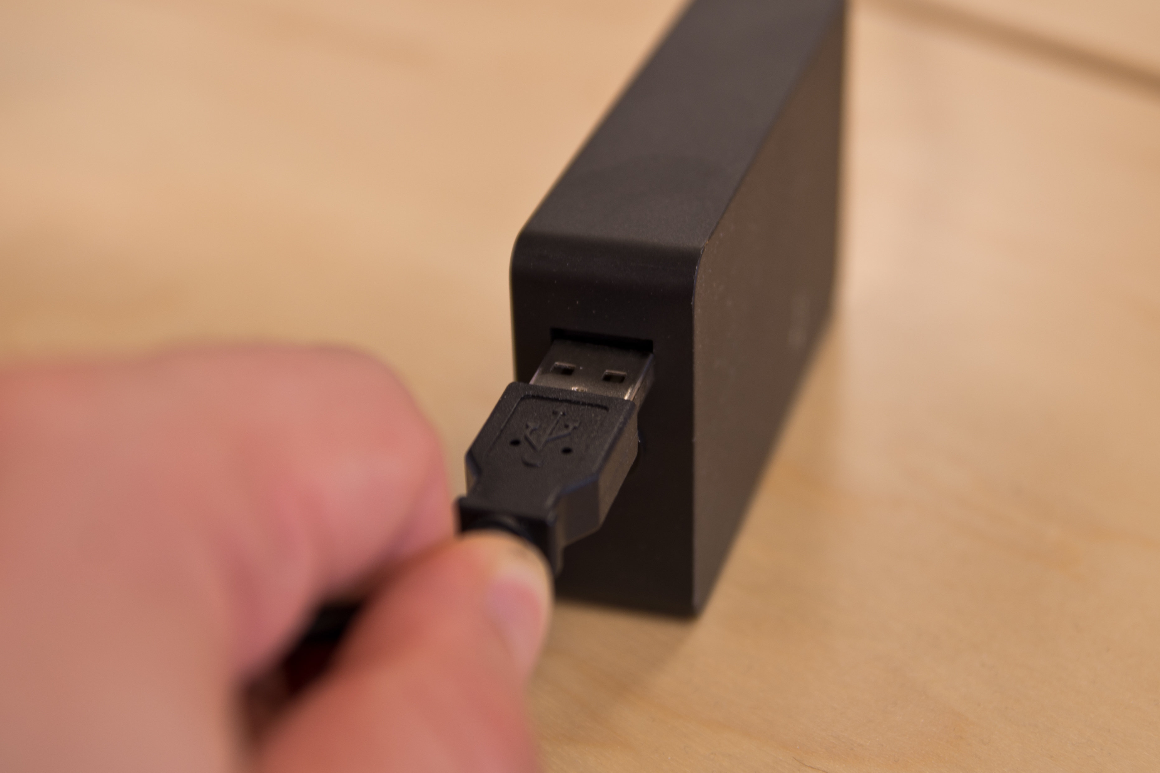 A closer look at the Microsoft Surface Pro 3's charger.
