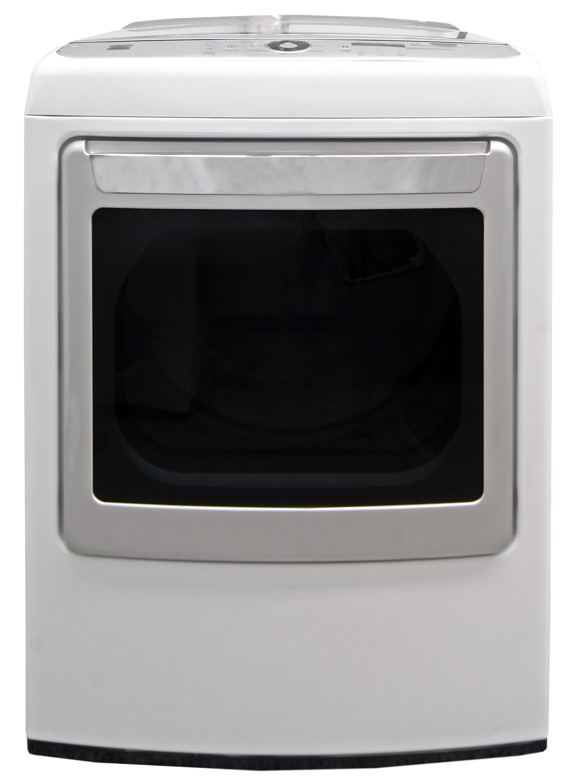 The Kenmore Elite 61422's unusual design gives a straightforward appliance some personality.