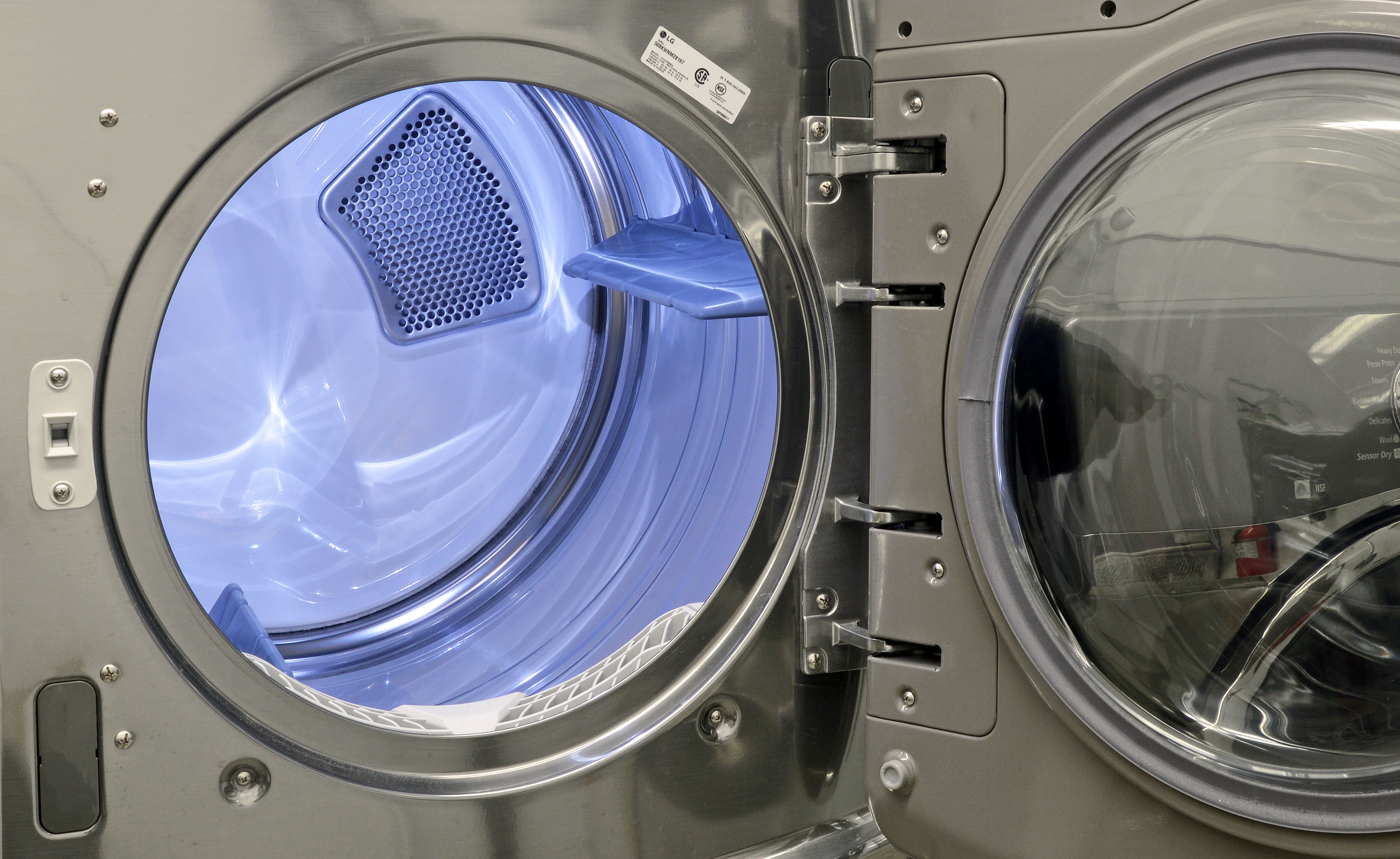 Inside Of A Dryer ~ Lg dlex v electric dryer review reviewed laundry