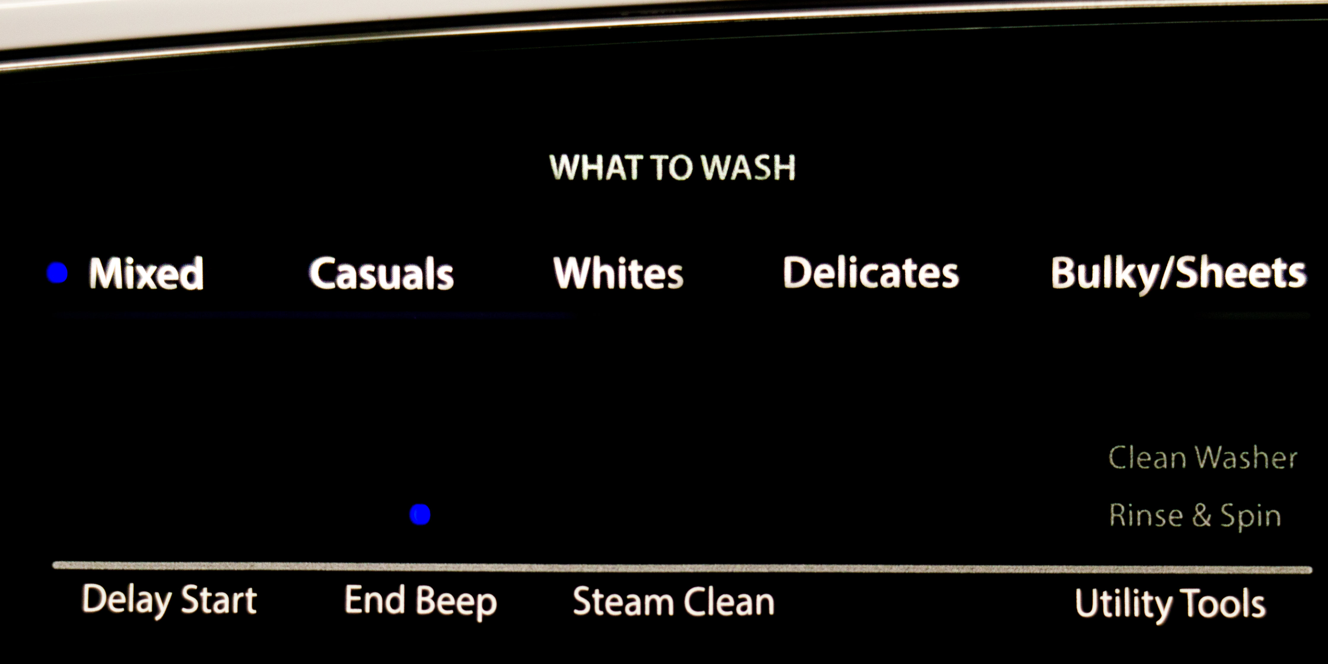 What do you want to wash?