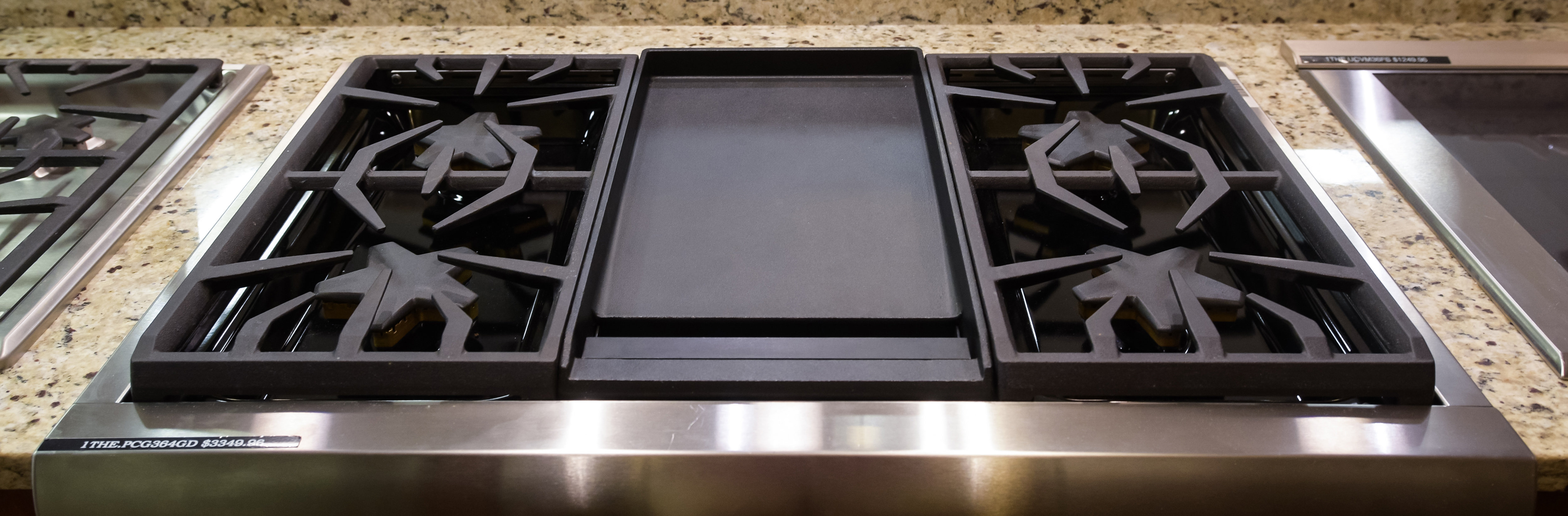 Rangetop with Griddle