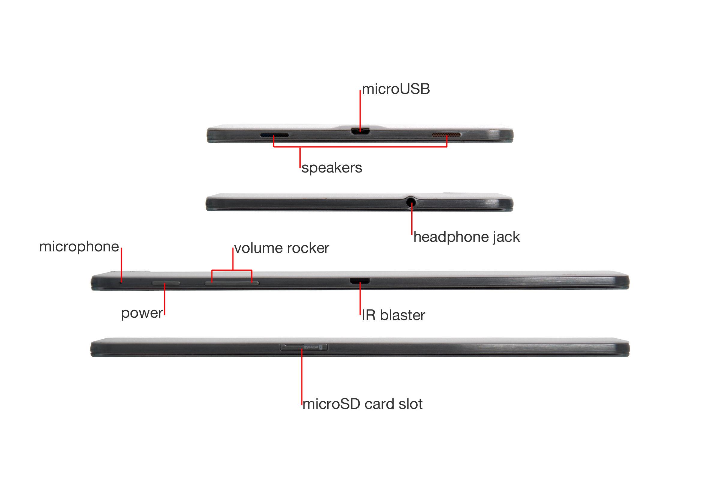 "A closer look at the Samsung Galaxy Tab Pro 8.4""."
