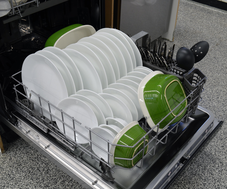KitchenAid KDTM404ESS bottom rack capacity