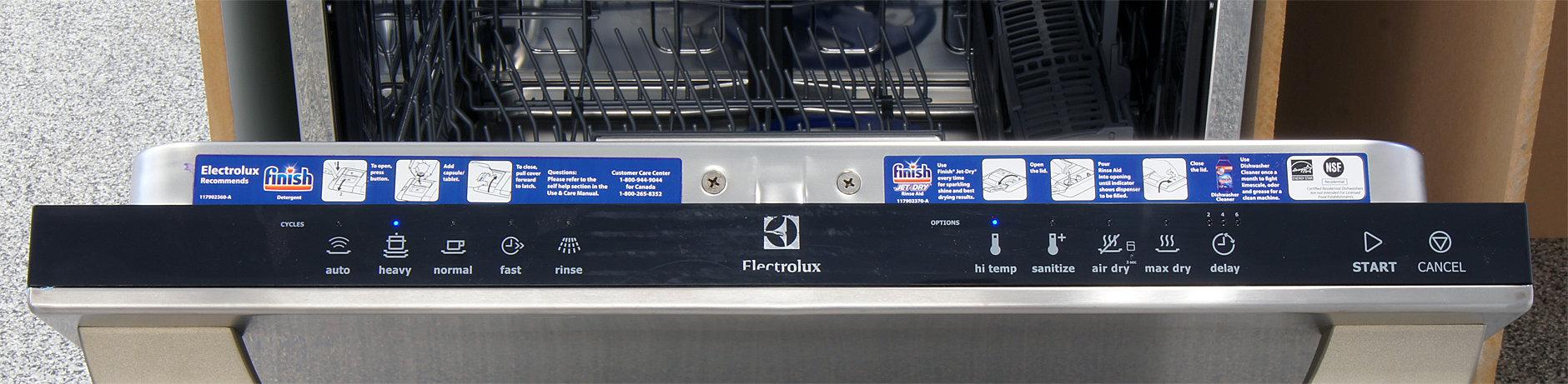 Electrolux EI24ID30QS control panel