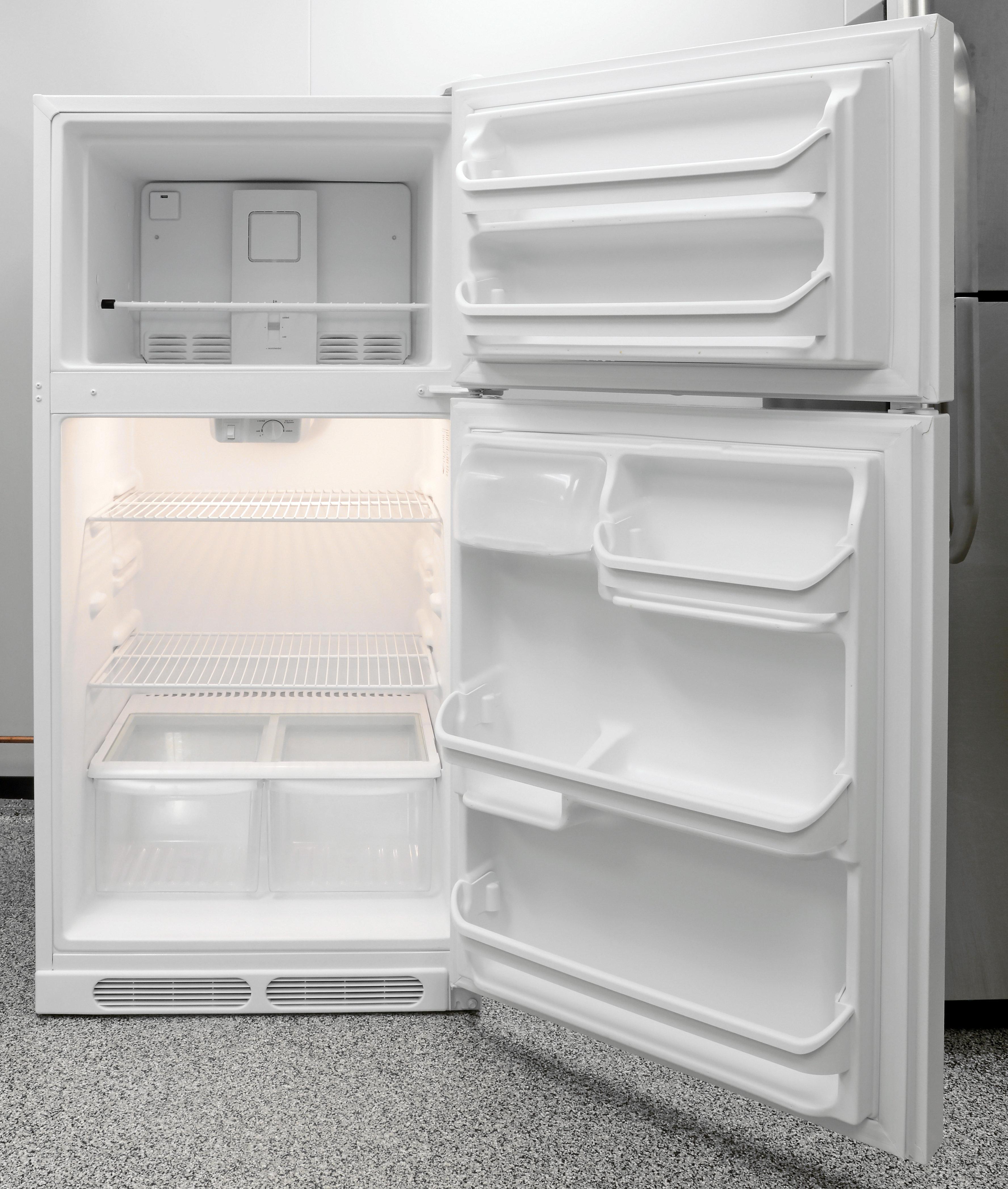 Frigidaire FFTR1514QW Refrigerator Review - Reviewed.com Refrigerators