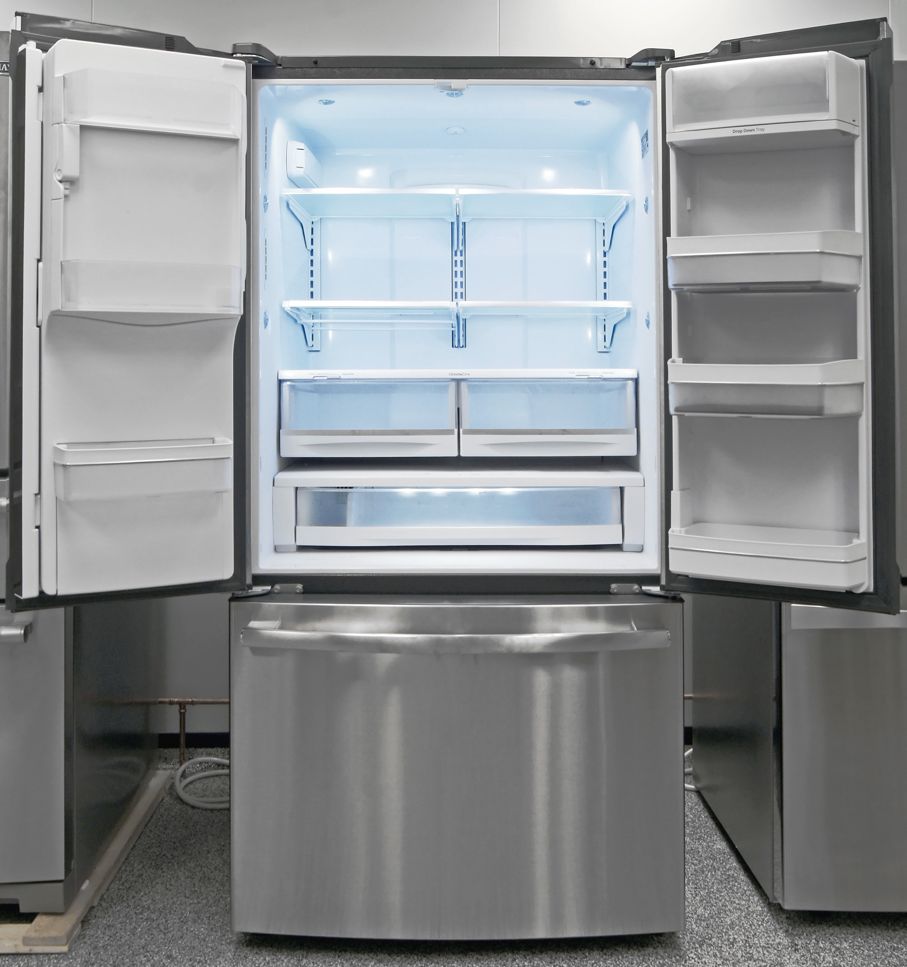 The GE Profile PFE28RSHSS is one of the manufacturer's best—and largest—fridges on the market.