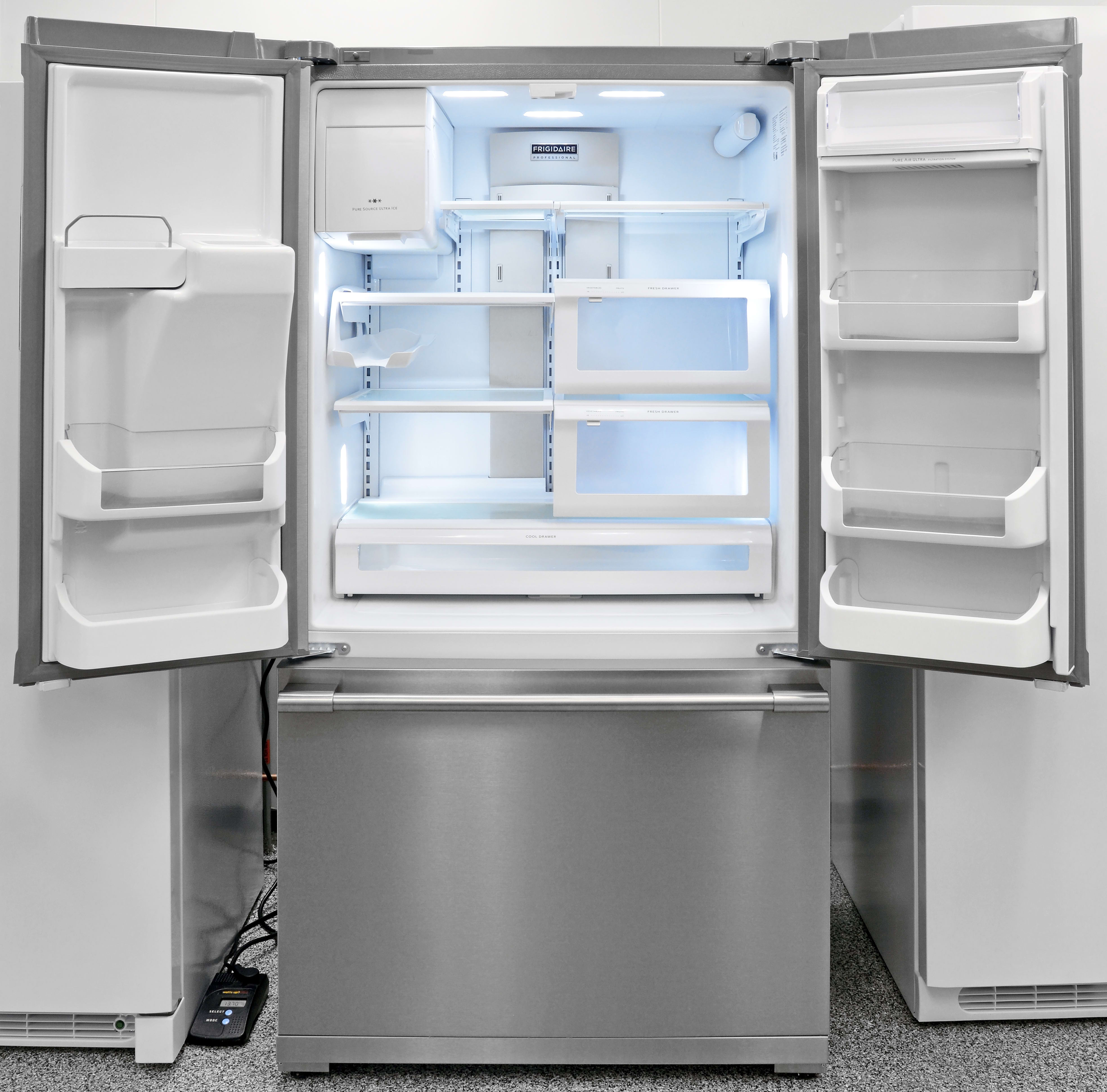 The Frigidaire Professional FPBC2277RF is large enough to hold lots of food, but shallow enough that everything is always accessible.