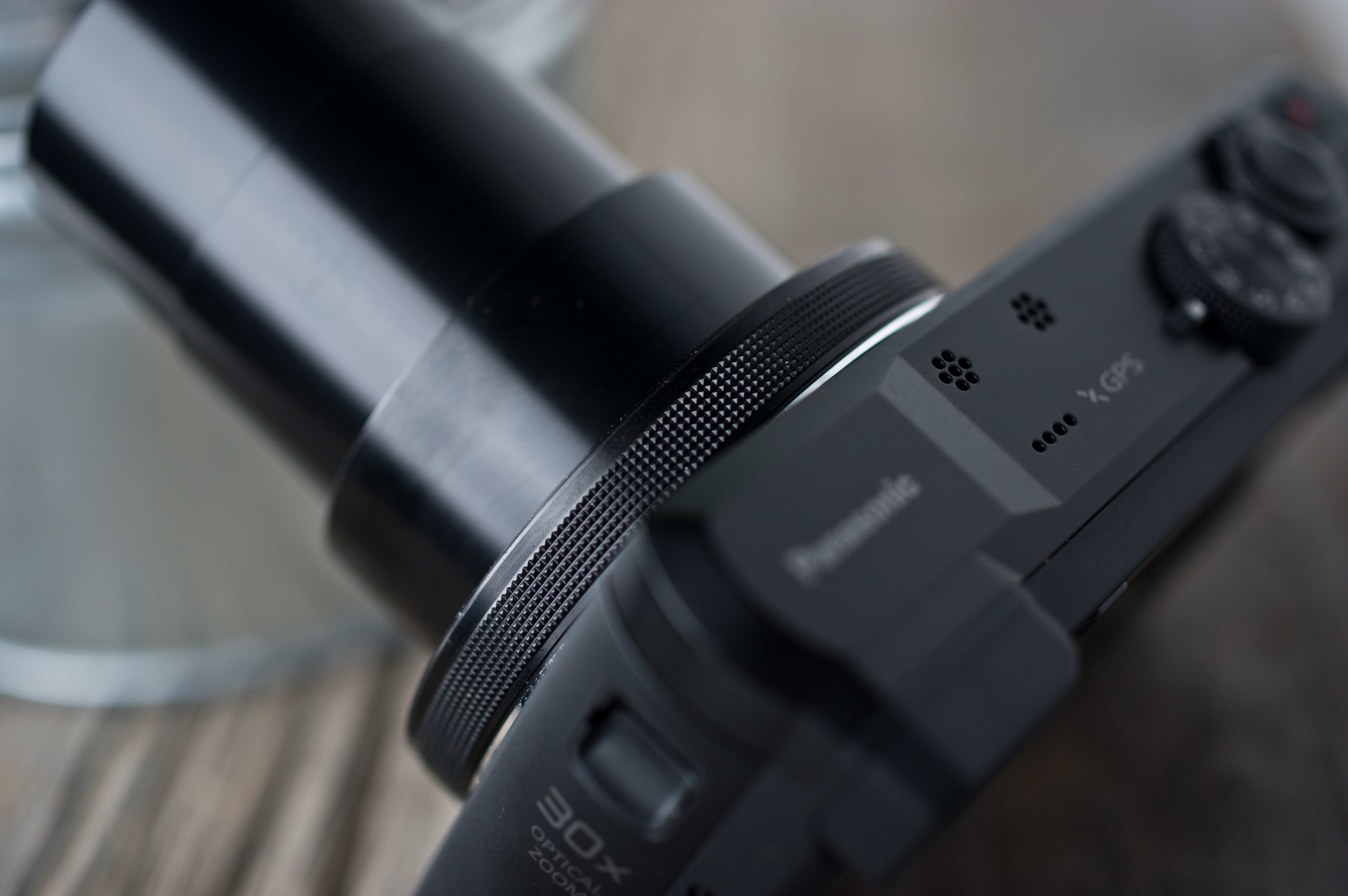 A picture of the Panasonic Lumix ZS40's control ring.