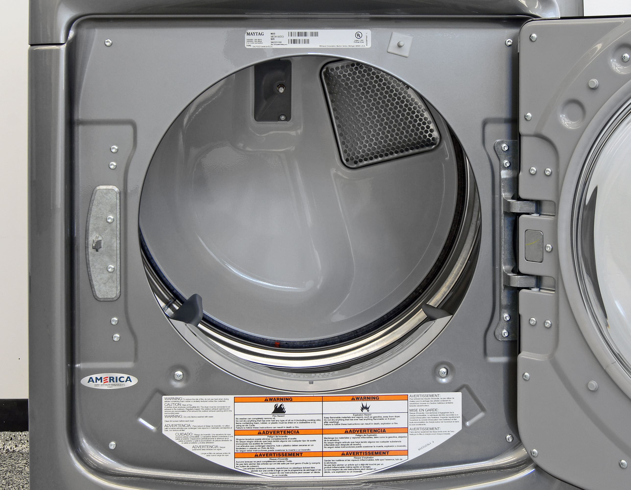 maytag maxima med8100dc dryer review laundry. Black Bedroom Furniture Sets. Home Design Ideas