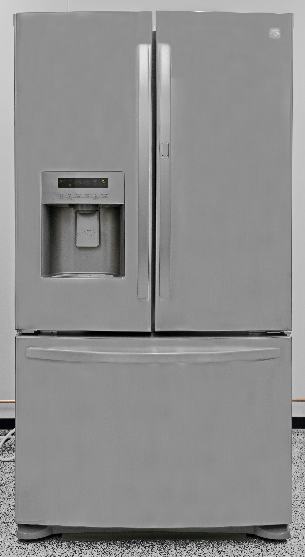 Without door-in-door storage, the Kenmore 70333 is an otherwise unremarkable fridge.
