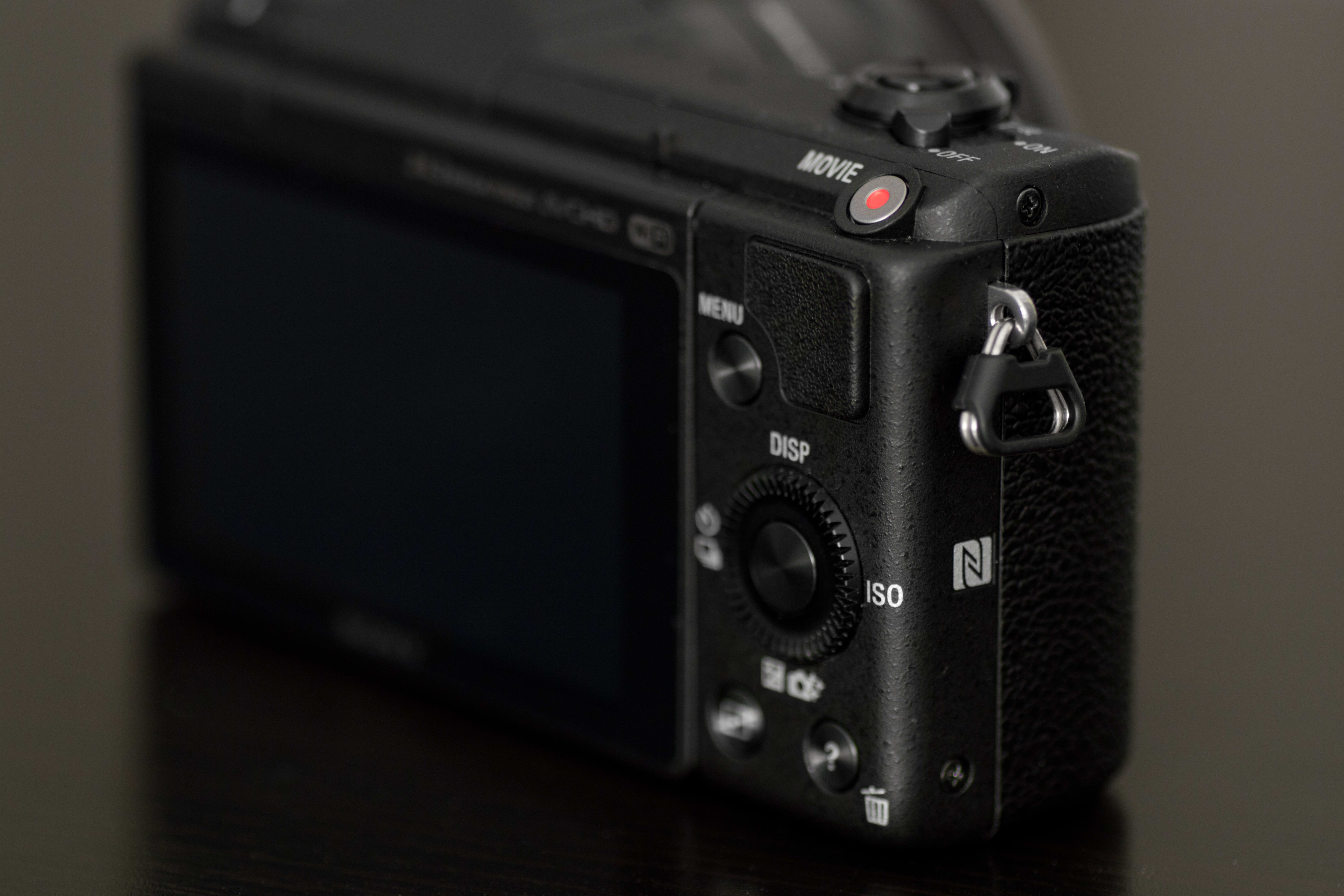 Shot of the NFC logo on the A5100.