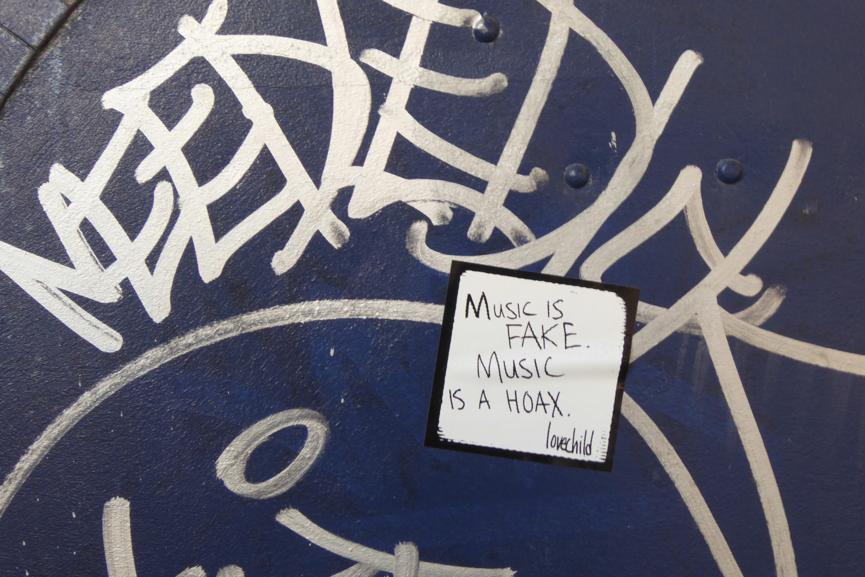 A sample photo of graffiti taken by the Panasonic Lumix DSC-ZS40.