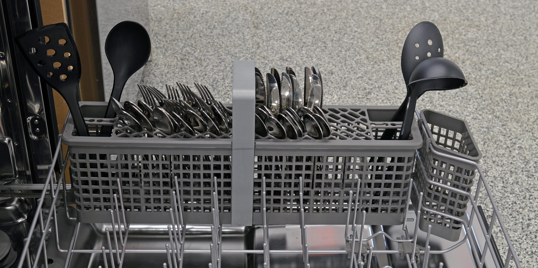KitchenAid KDTE404DSS cutlery basket capacity