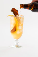 Plum Pancetta Cider