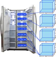 Samsung RSG257AARS Storage