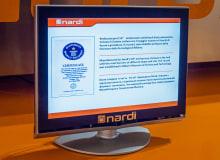 The Nardi Vulcano's Guinness Record Certificate