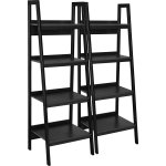 Altra lawrence 4 shelf ladder bookcase bundle