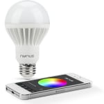 Nyrius wireless smart led multicolor light bulb