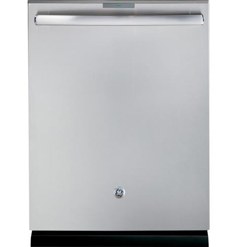 GE Profile PDT760SSFSS Series Stainless Steel Interior Dishwasher with Hidden Controls