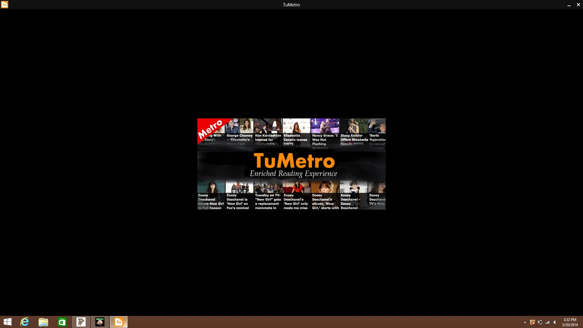 A screenshot of the Tu Metro app.
