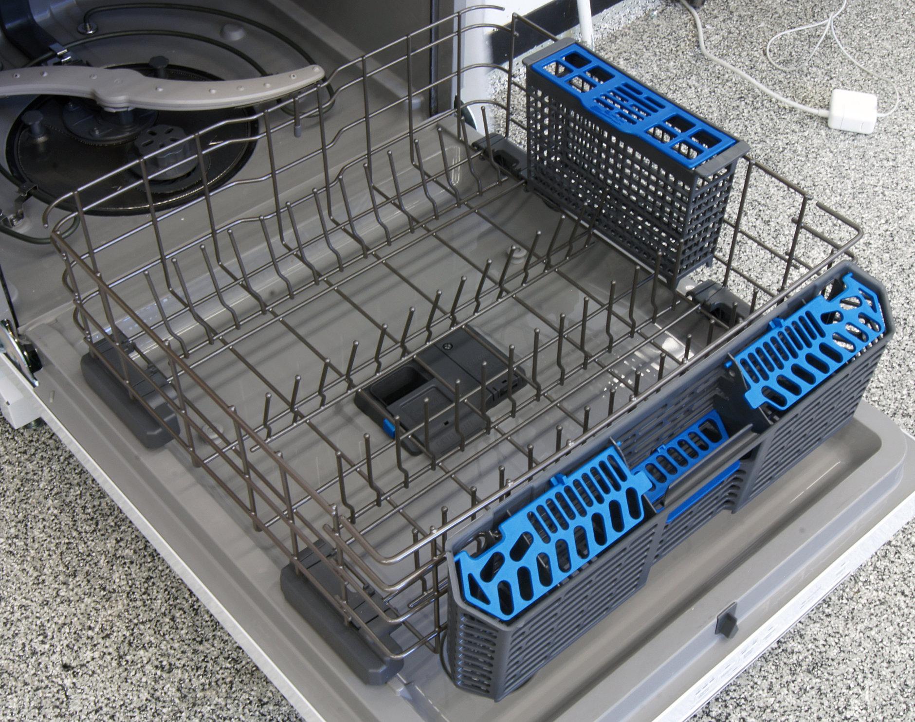 GE Artistry ADT521PGFWS bottom rack