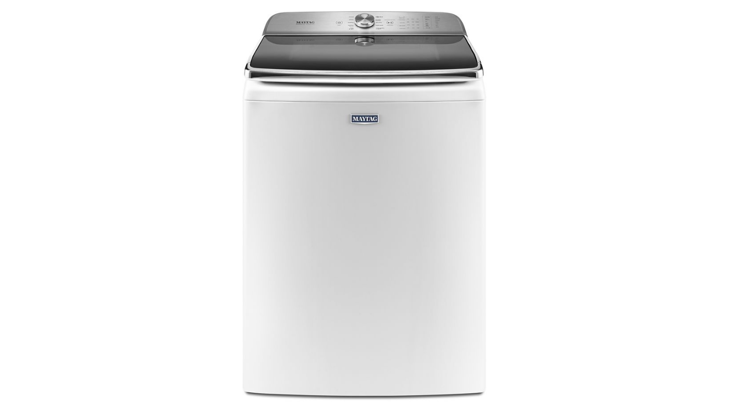 Standing 44 inches tall, the MVWB955FC is one of the largest washer on the market.