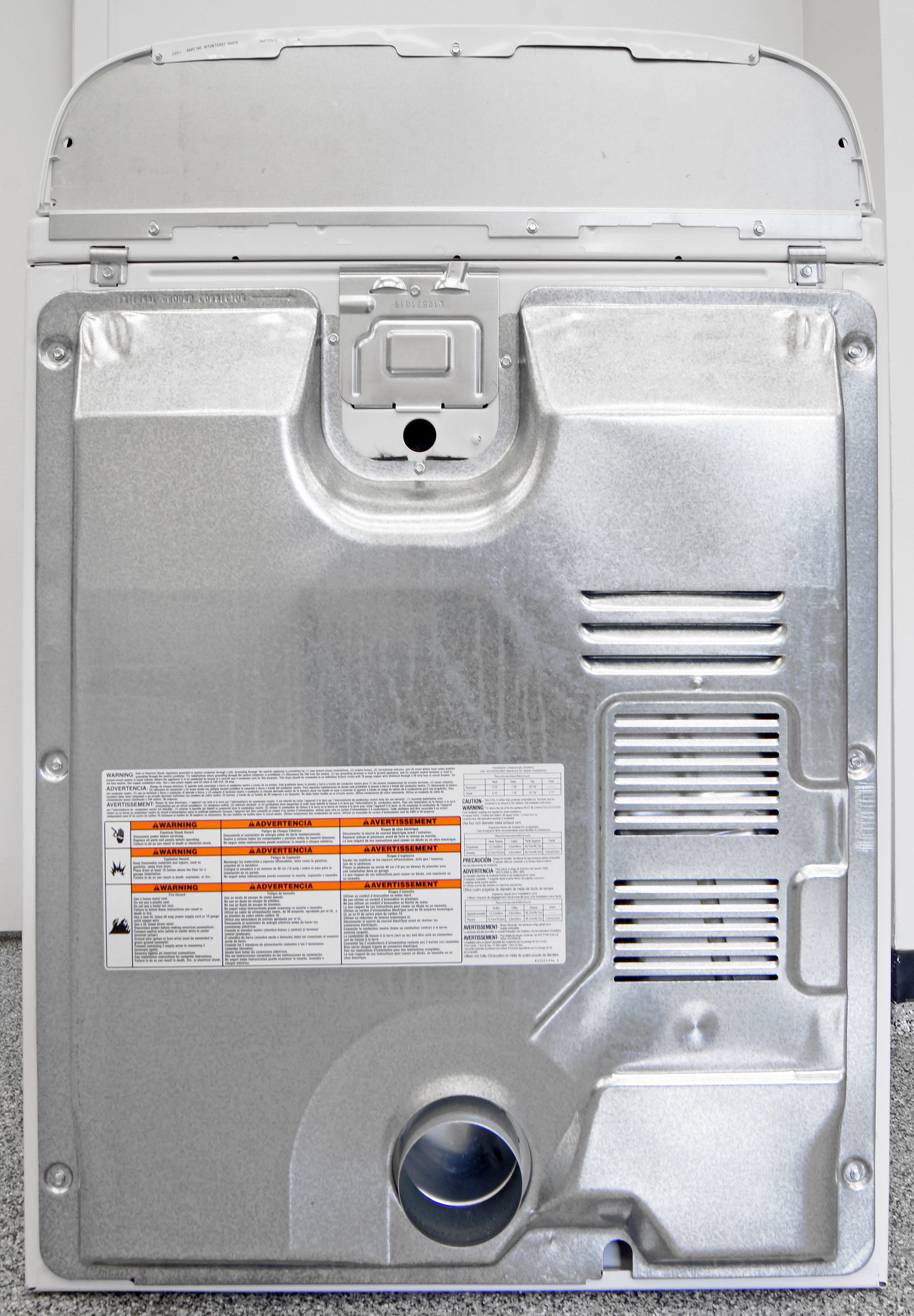 Did you really expect a budget dryer like the Whirlpool WED5000DW to have a steam hookup?