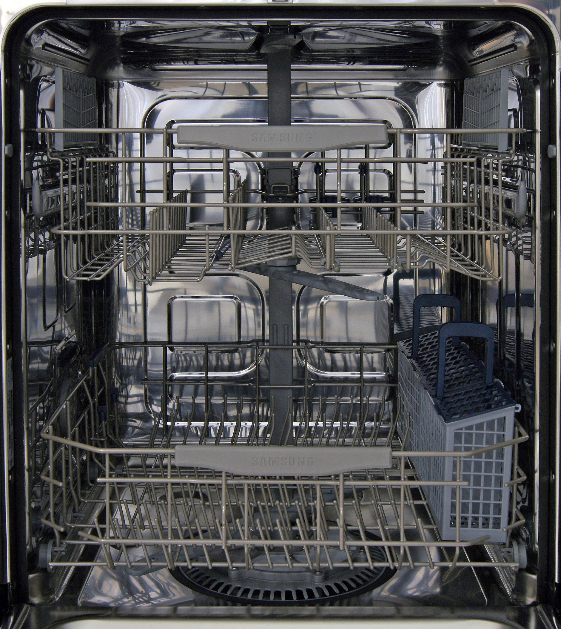 Interior of the Samsung DW80F600UTS
