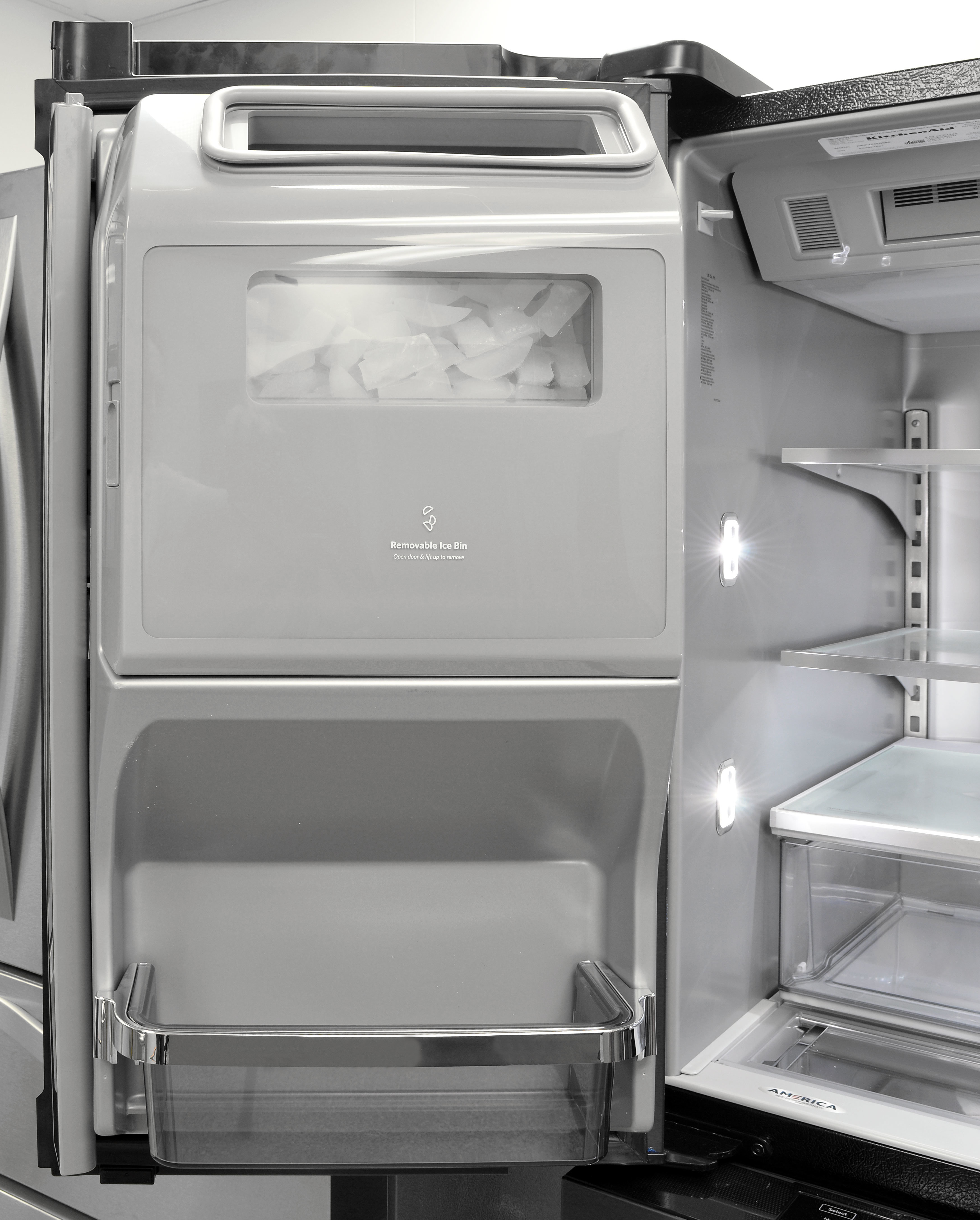 Kitchenaid Krmf706ebs Refrigerator Review Reviewed Com