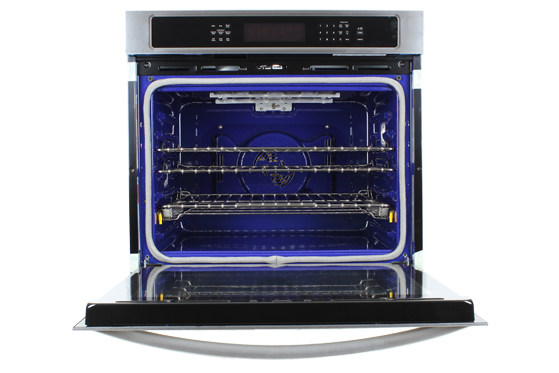 kitchenaid kebs109bss 30 inch electric wall oven review reviewed credit