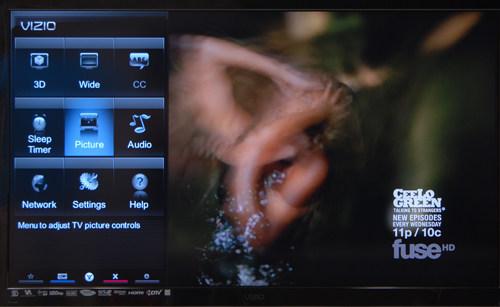 vizio smart tv menu. credit: vizio smart tv menu