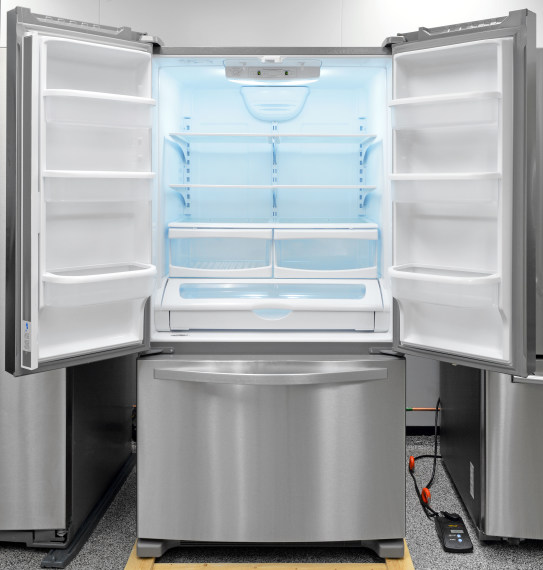 Maytag MFF2558DEM French Door Refrigerator Review - Reviewed.com ...
