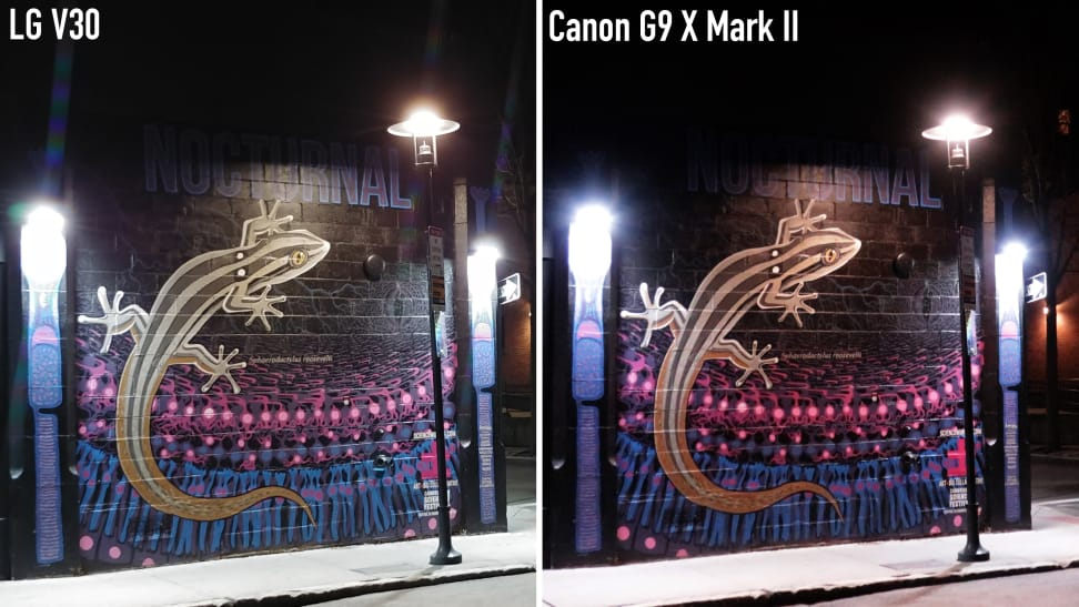 Canon G9 X Mark II Low Light Comparison