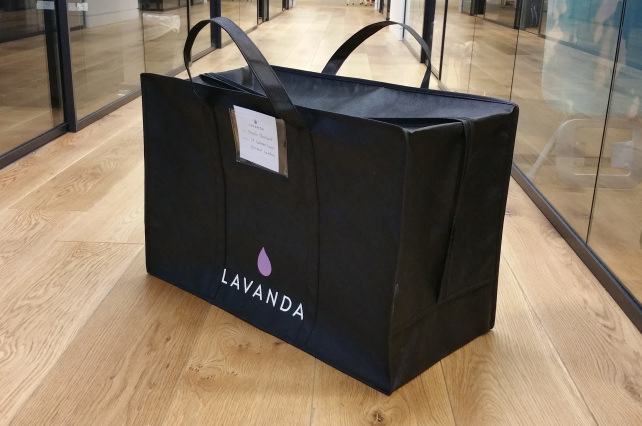 Lavanda Laundry Bag