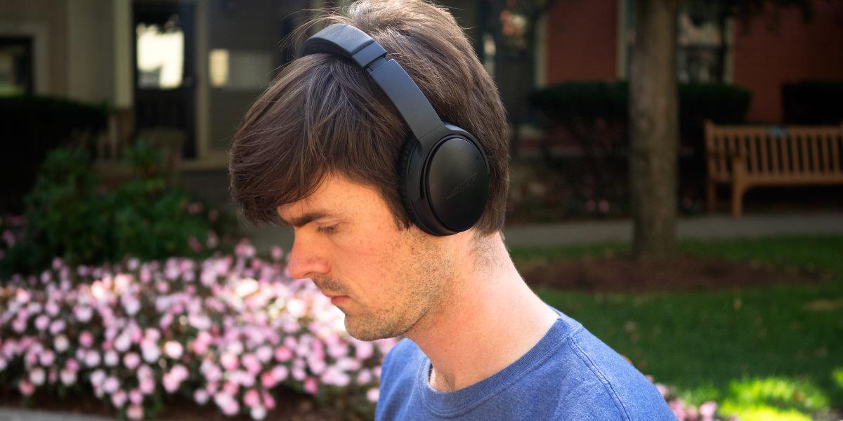 bose quietcomfort 35. bose quietcomfort 35 (qc35) wireless headphones review - reviewed.com quietcomfort