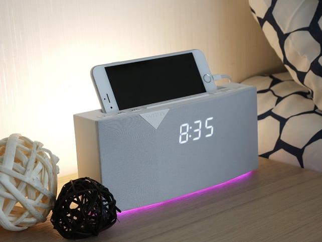 WITTI BEDDI Smart Radio Alarm Clock