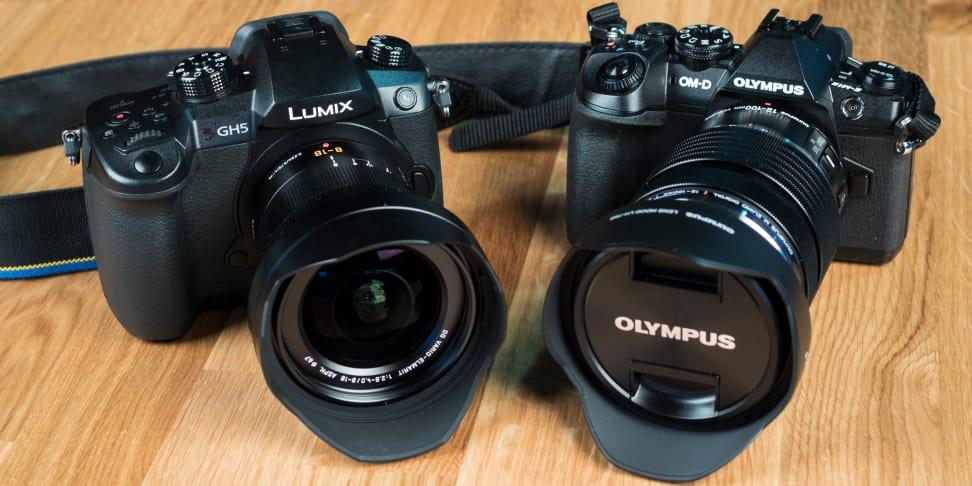 Panasonic Lumix GH5 vs Olympus OM-D E-M1 Mark II
