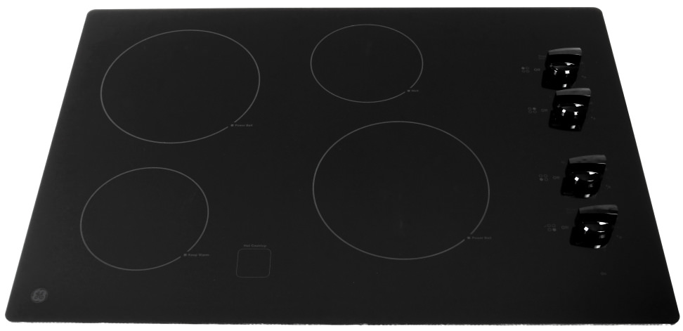 The GE JP3030DJBB electric cooktop