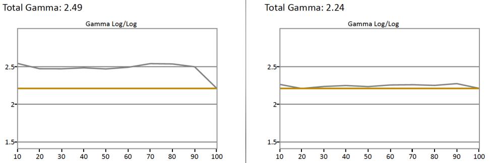 CalMan-SDR-Gamma