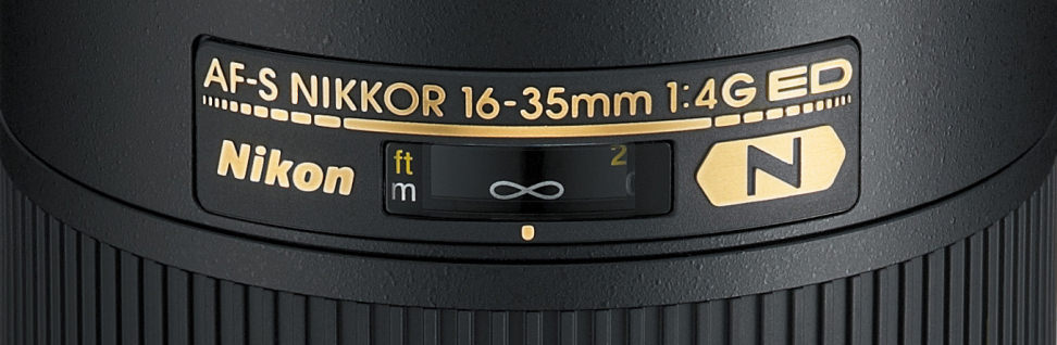 Nikon Lens Markings