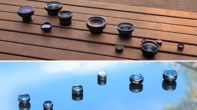 Aukey phone lens kit