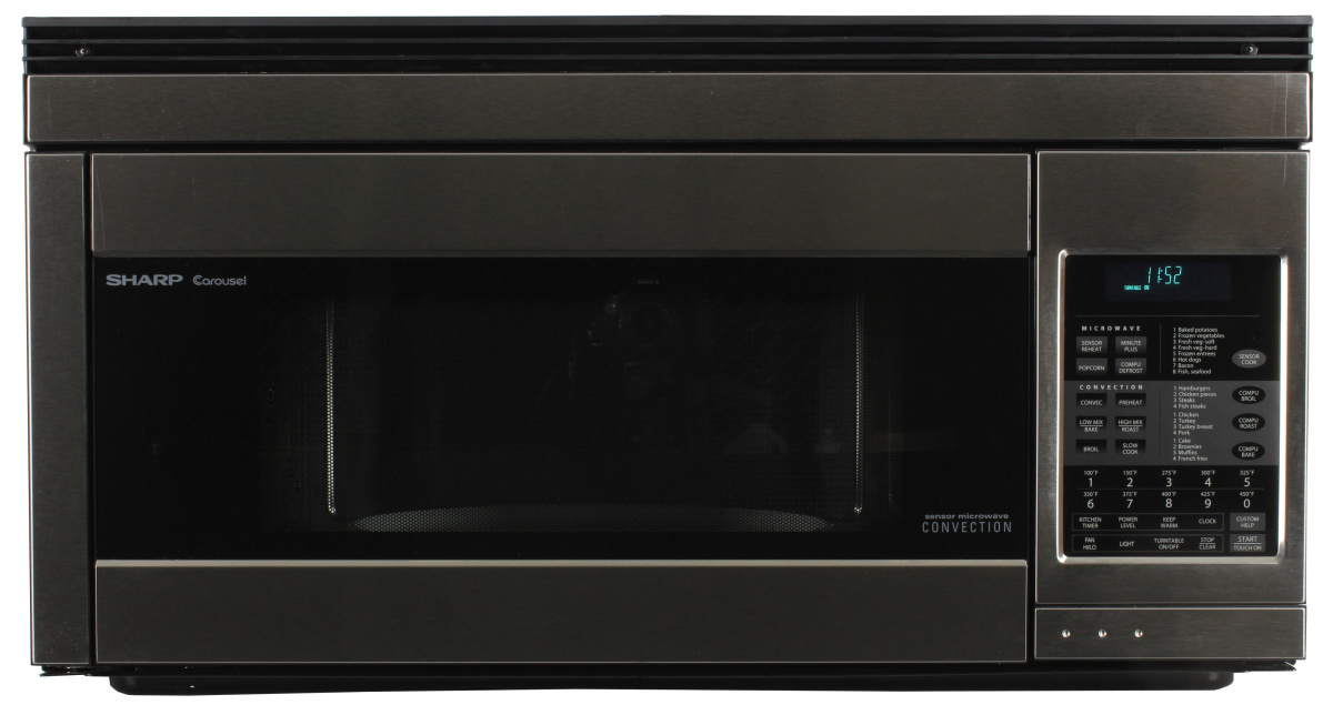 The Sharp R1874 Over Range Microwave Oven