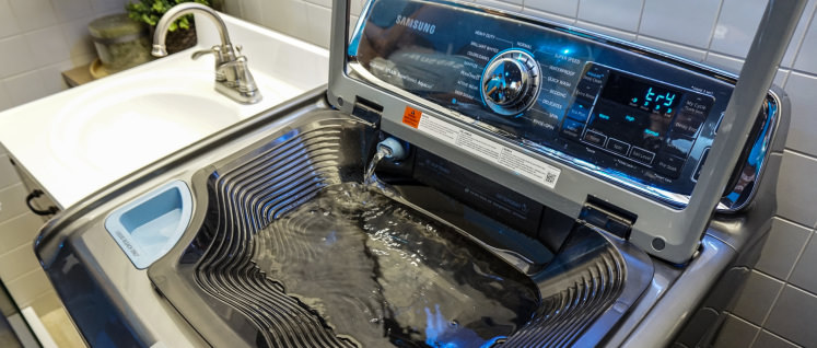 samsung washing machine with built in sink