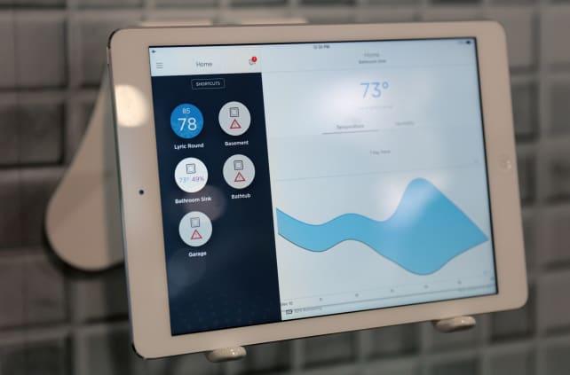 Honeywell Lyric Wifi Leak And Freeze Detector Keeps Your
