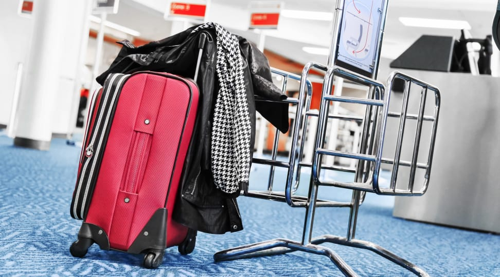 Carry-on luggage checker