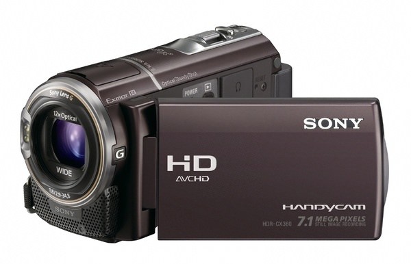 Product Image - Sony Handycam HDR-CX360V
